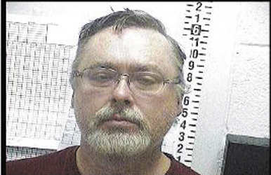 James Cameron's booking photo, from the Sandoval County Detention Center in New Mexico.