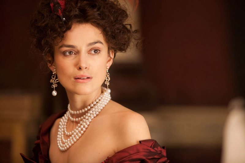 "Keira Knightley has the title role in the latest screen adaptation of Leo Tolstoy's novel ""Anna Karenina."" Jude Law and Aaron Taylor-Johnson also star."