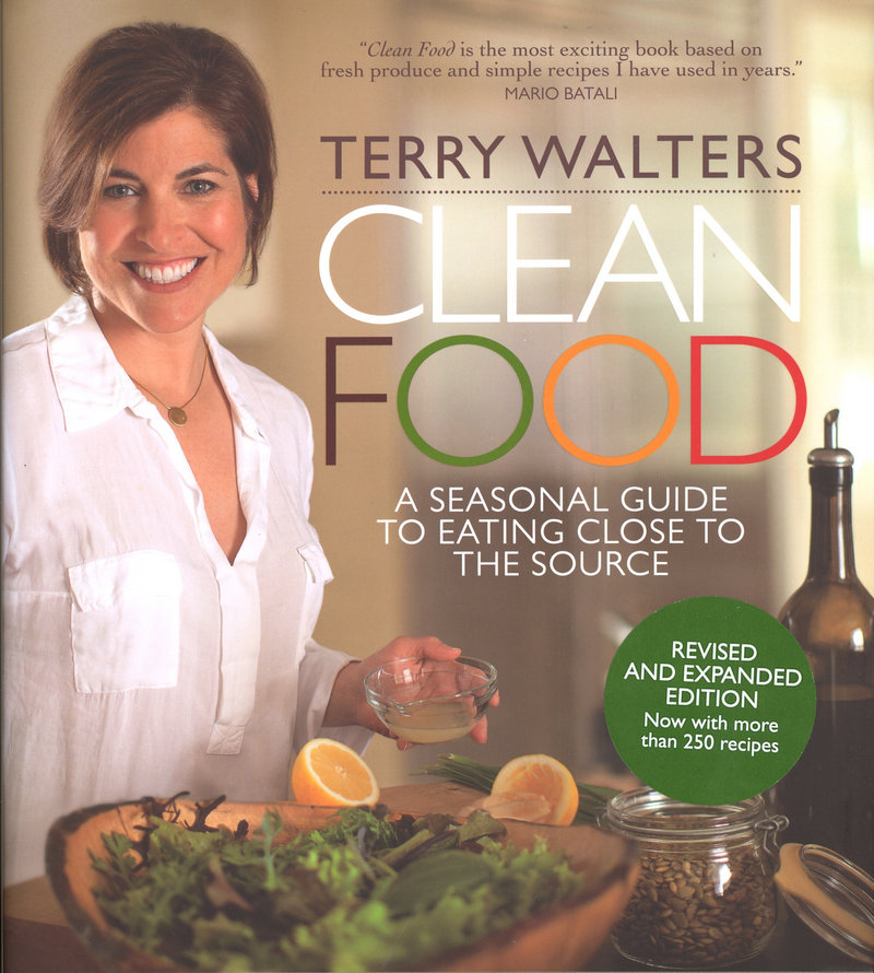 "The updated ""Clean Food"" by Terry Walters offers new vegan recipes."