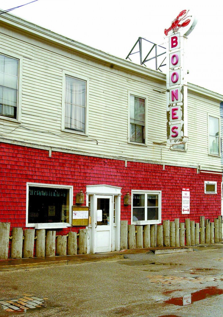 The former Boone's on the waterfront, where Harding Lee Smith plans to open a new seafood restaurant.