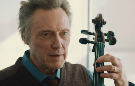 Walken as a cellist battling Parkinson's disease.