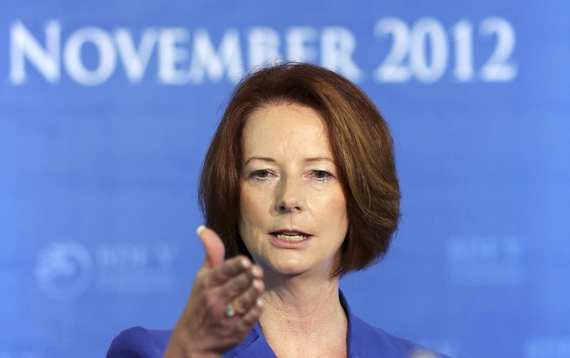 Australia's Prime Minister Julia Gillard made a spoof video appearance, saying the Mayan calendar was right and the end of the world is coming this month.