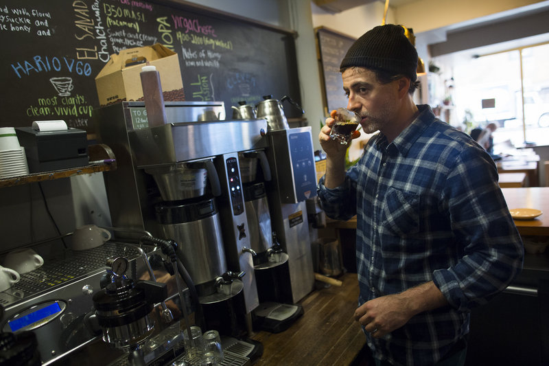 In New York City's West Village, Frenando Aciar's O Cafe opened only last Saturday when power was restored early that morning. The Oct. 29 storm forced the closing of many small businesses. Even for those open, many residents aren't spending money at the businesses in their communities.