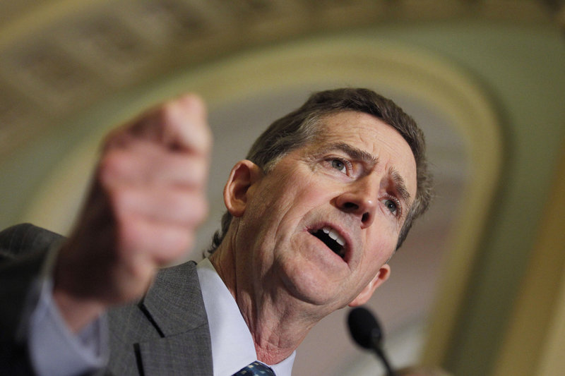 Sen. Jim DeMint, R-S.C., announced Thursday that he is resigning to take over at Heritage Foundation, a conservative think tank in Washington, D.C.