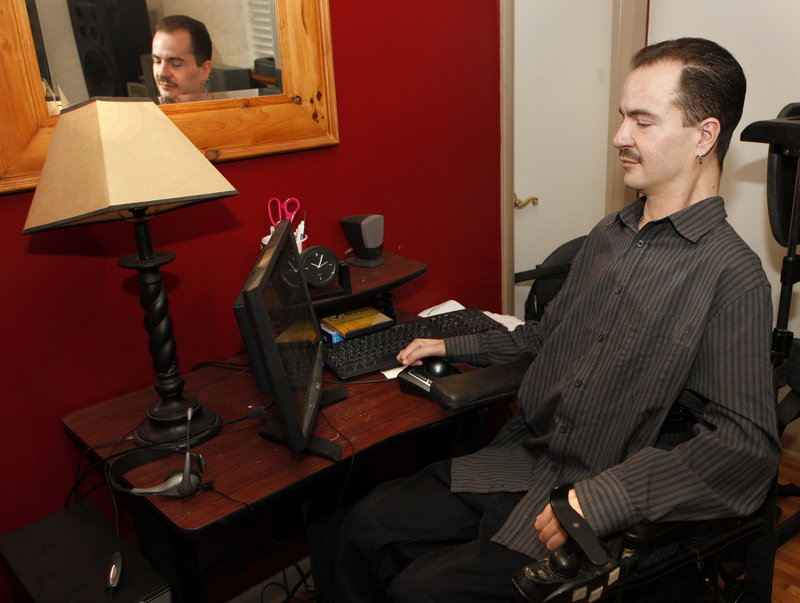 Brandon Coats is appealing his case over his firing in 2010 for failing a company drug test. Paralyzed as a teen, he's been a medical marijuana patient since 2009.