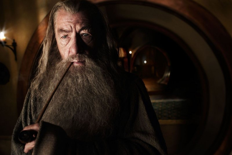 "Ian McKellan reprises his ""Lord of the Rings"" role as the wizard Gandalf."