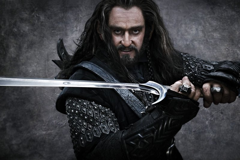 Richard Armitage as Thorin Oakenshield, an exiled dwarf king.