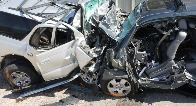 Wrong-way driving, the cause of this 2014 collision in Fountain, Colo., is a common result of drunken driving, according to the NTSB, which favors dashboard breathalyzers for all drunken driving offenders.