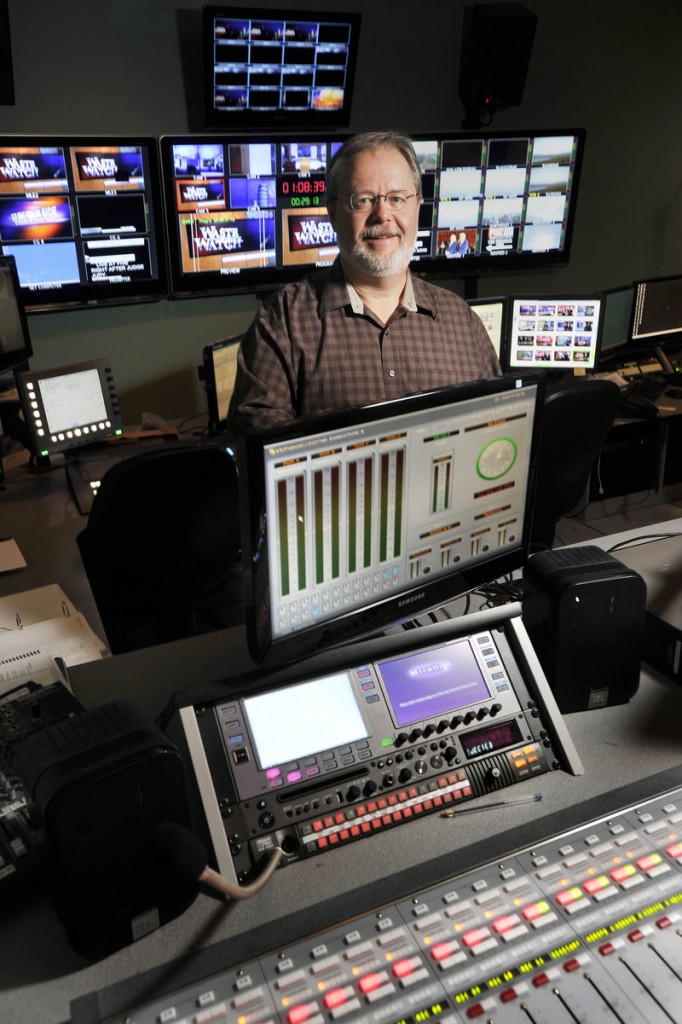 WGME-TV chief engineer Craig Clark says stations have equipment to make it easy to meet the new volume standard for commercials.
