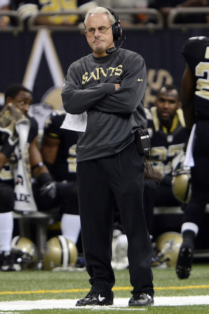 Joe Vitt, interim head coach of the New Orleans Saints, says he's been maligned in the NFL's investigation of an alleged bounty system.