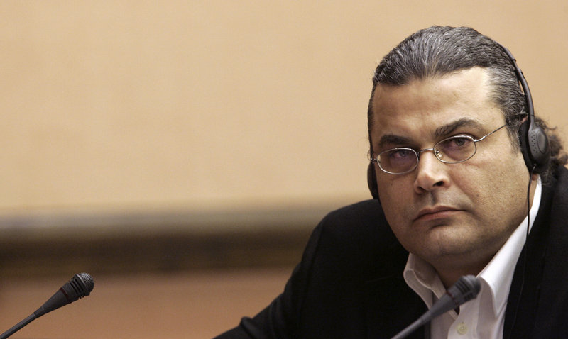 German Khaled El-Masri, seen in March 2006, says CIA agents abducted him and transported him to a secret Afghanistan prison in 2003, where he was tortured.