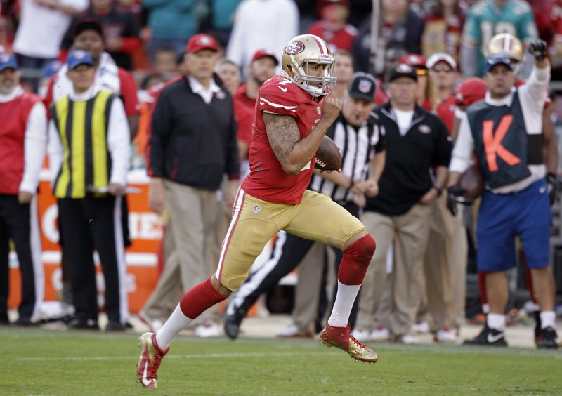 Colin Kaepernick took over the quarterback job in San Francisco when he replaced injured starter Alex Smith on Nov. 11. Smith has since recovered, but Coach Jim Harbaugh has continued to go with Kaepernick, who is 3-1-1 as a starter.