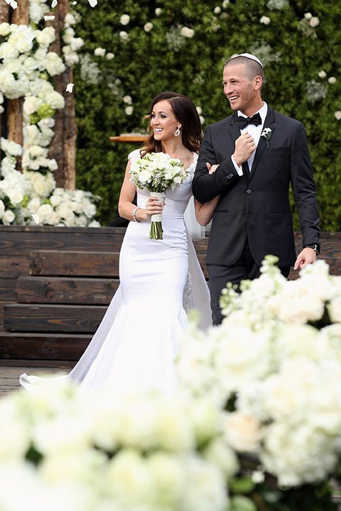 "The wedding of Ashley Hebert and J.P. Rosenbaum, who met on the ""Bachelorette,"" airs Sunday on ABC."
