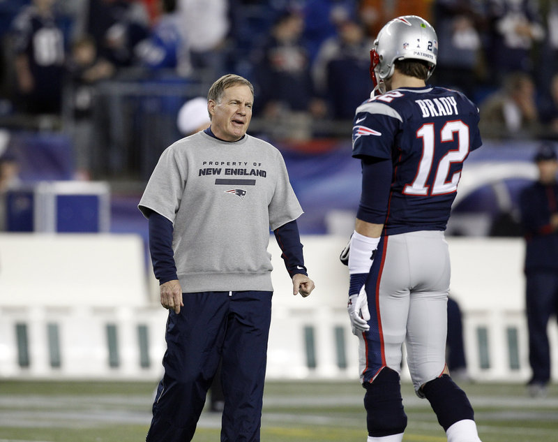 Bill Belichick and Tom Brady make up two-thirds of a Patriots brain trust that has kept the team at or near the top of the NFL for a dozen years.