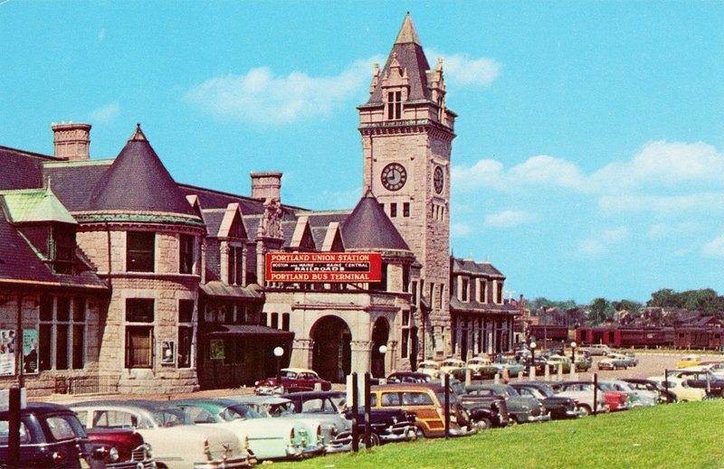Union Station circa the 1950s.