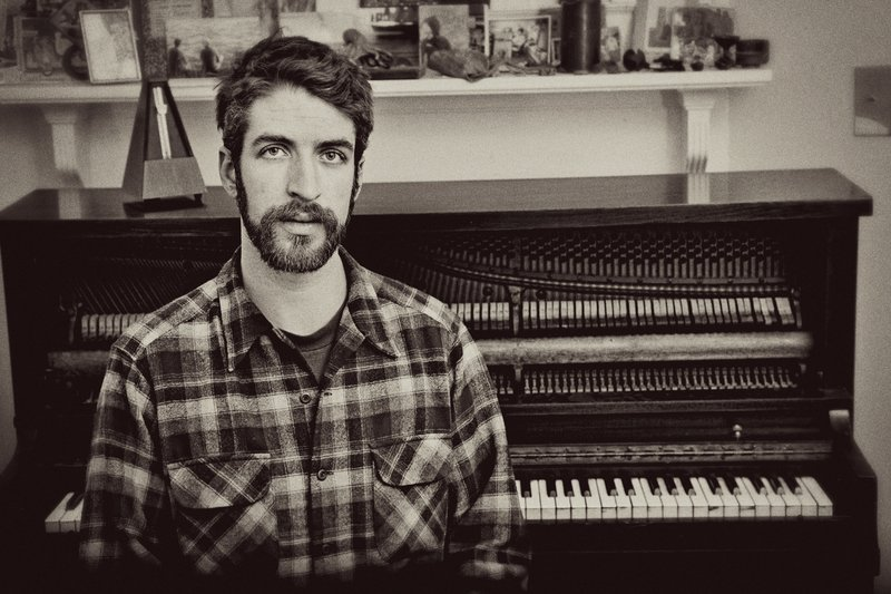 Courtesy photo Moses Atwood went to college for three semesters before realizing music was his passion. Atwood, who grew up in Damariscotta, now lives in Asheville, N.C.