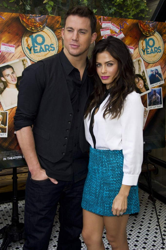 "Channing Tatum and Jenna Dewan-Tatum, co-stars of the film ""10 Years,"" have been married since 2009."