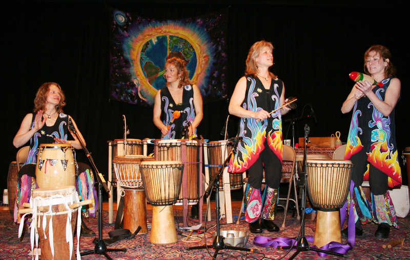 Inanna, Sisters in Rhythm performs winter solstice concerts on Thursday in Camden, on Friday in Portland and on Saturday in Whitefield.