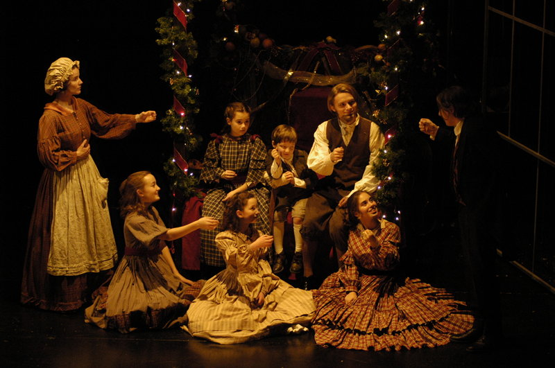 "It's the final weekend for the Cratchit family and the rest of the characters in the Portland Stage Company production of ""A Christmas Carol,"" with performances Thursday through Sunday, including two on Saturday."