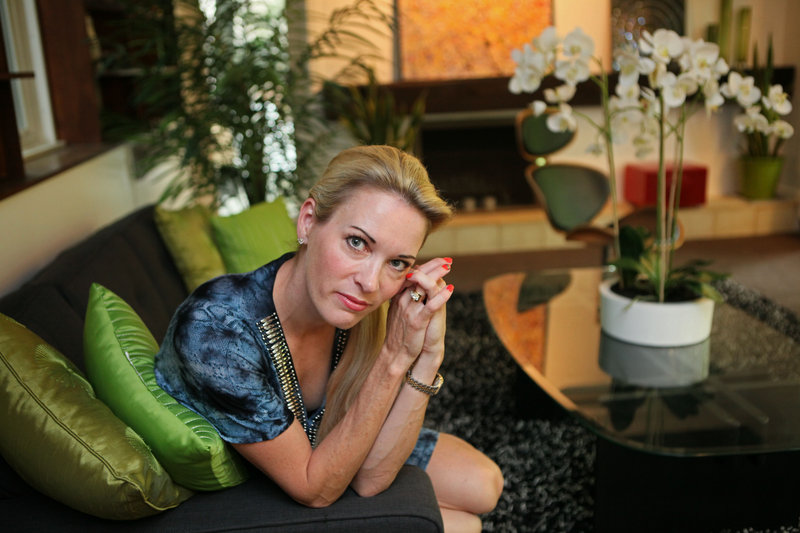 Suzy Favor Hamilton, a three-time Olympic runner, says her prostitution was related to depression.