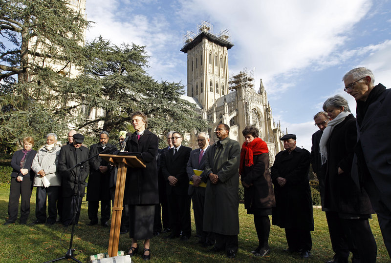 The Right Rev. Mariann Edgar Budde, the Episcopal bishop of Washington, says Christians have an obligation to not just pray but to take action to end gun violence.