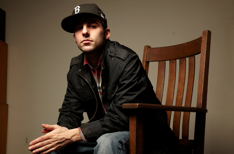 Maine rapper Spose performs at The Big Easy in Portland on Thursday.