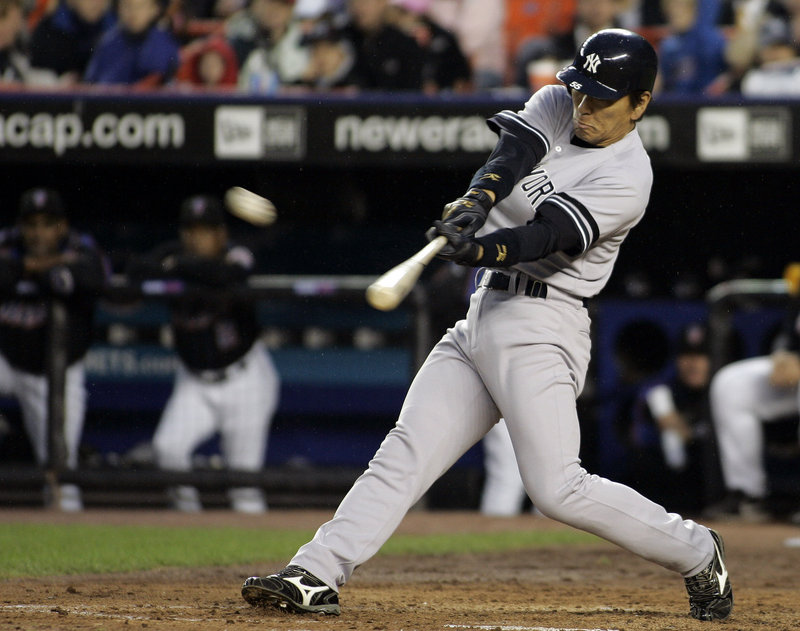 Hideki Matsui, a solid 10-year pro for several teams, including the Yankees, announced his retirement from Major League Baseball Thursday in New York.