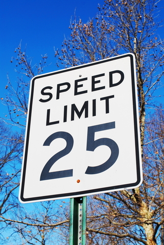 Some things that might affect how fast your home sells include the posted speed limit on your street ...
