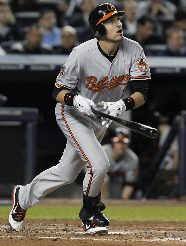 Ryan Flaherty spent his first full season in the major leagues with the Baltimore Orioles and made an impact in the AL playoffs.