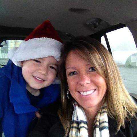 Susan Johnson and her 6-year-old Brayden