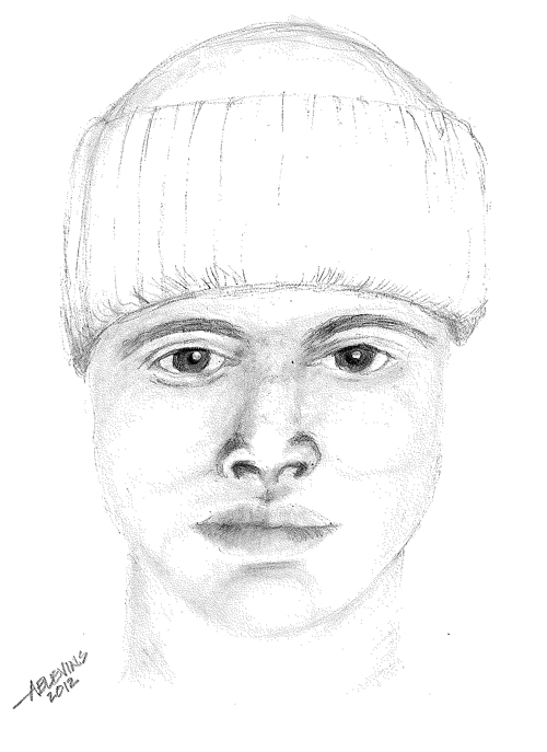 Portland police released this artist's sketch of the suspect.