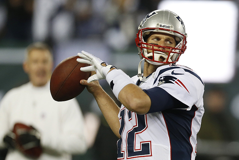 Tom Brady holds the NFL record for career playoff wins for a starting quarterback and is looking for another.