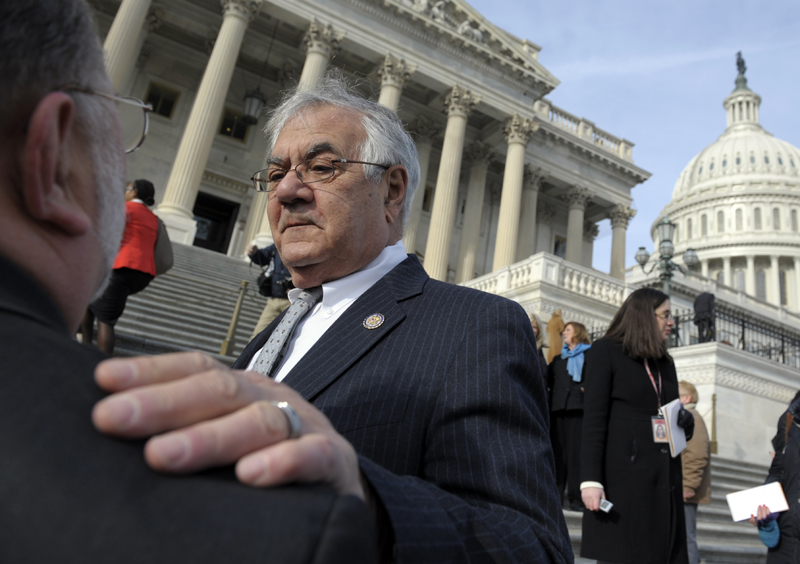 Barney Frank, whose 16 terms in the U.S. House ended this week, wants to be the interim replacement for Sen. John F. Kerry, D-Mass., who has been nominated to be secretary of state.