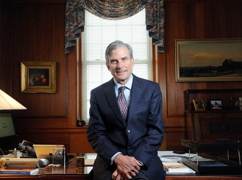 William D. Adams, former president of Colby College, has been confirmed as chair of the National Endowment for the Arts.