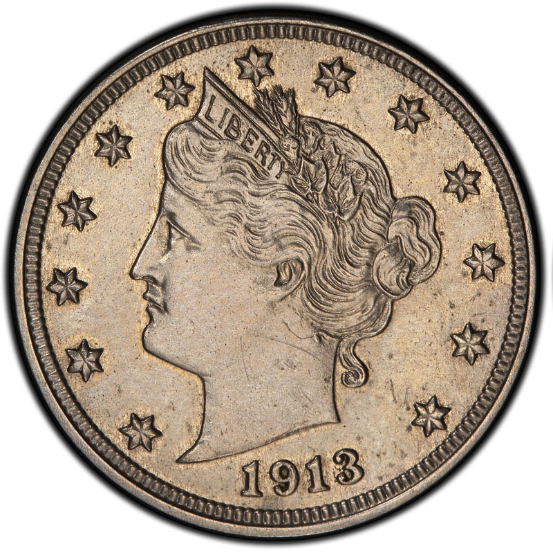 This image provided by Heritage Auctions shows an authentic 1913 Liberty Head nickel that was hidden in a Virginia closet for 41 years after its owners were mistakenly told it was a fake. The nickel is one of only five known and expected to sell for $2.5 million or more in an auction conducted by Heritage Auctions in the Chicago suburb of Schaumburg, Ill., on April 25, 2013.