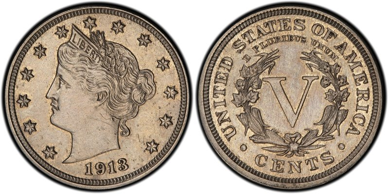The lady in the Liberty Head nickel is lying about her age, as she was really minted one year before 1913, but that just makes her all the more valuable to serious coin collectors.