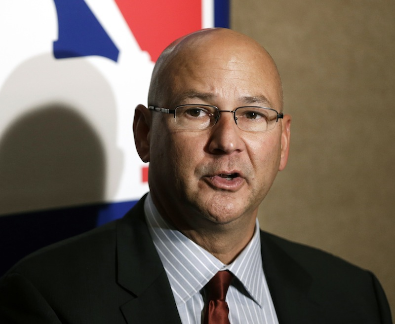 In this Dec. 5, 2012 file photo, Cleveland Indians manager Terry Francona answers questions during a news conference at the baseball winter meetings in Nashville, Tenn. Owners of the Boston Red Sox thought the team wasn't marketable after the 2010 season and needed to add