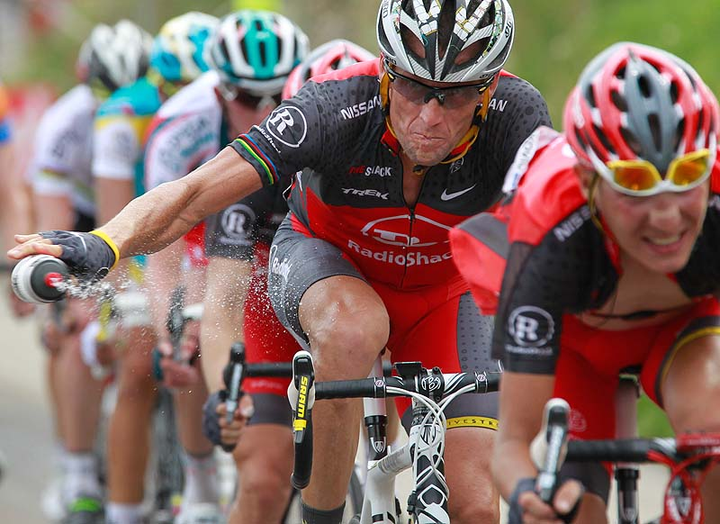 The New York Times reported that Lance Armstrong, who has strongly denied the doping charges that led to him being stripped of his seven Tour de France titles, has told associates he is considering admitting to the use of performance-enhancing drugs.