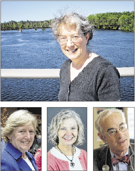There are four medical doctors serving in the State House in the coming legislative session: top, Rep. Ann Dorney, D-Norridgewock; above left to right, Rep. Jane Pringle, D-Windham; Rep. Linda Sanborn, D-Gorham; and Sen. Geoffrey Gratwick, D-Bangor.