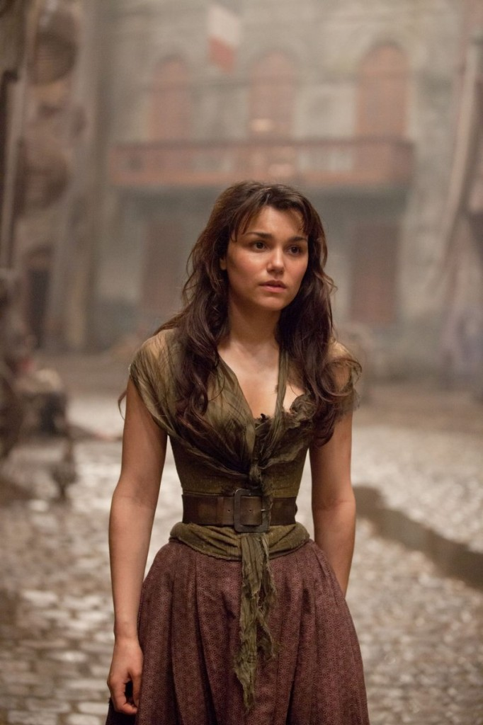 "Samantha Barks plays the role of Eponine in ""Les Miserables."""