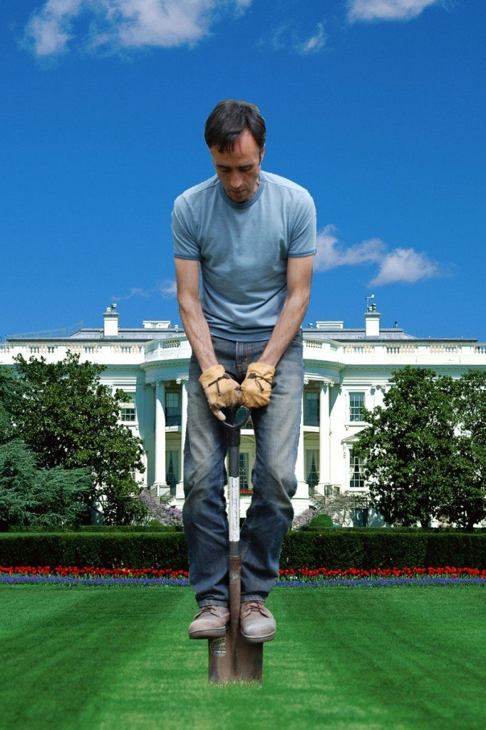 Roger Doiron used this graphic and other outreach methods to lead a successful campaign to see a kitchen garden planted on the White House lawn.