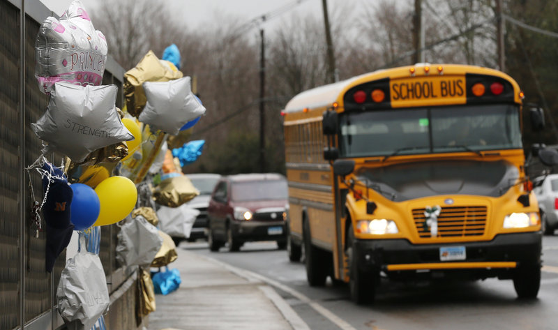 Students at the Sandy Hook Elementary School will be returning to classes Thursday, three weeks after the deadly shooting. They will be going to a new school in a neighboring town where their old desks have been taken along with backpacks and other belongings left behind in the chaos.