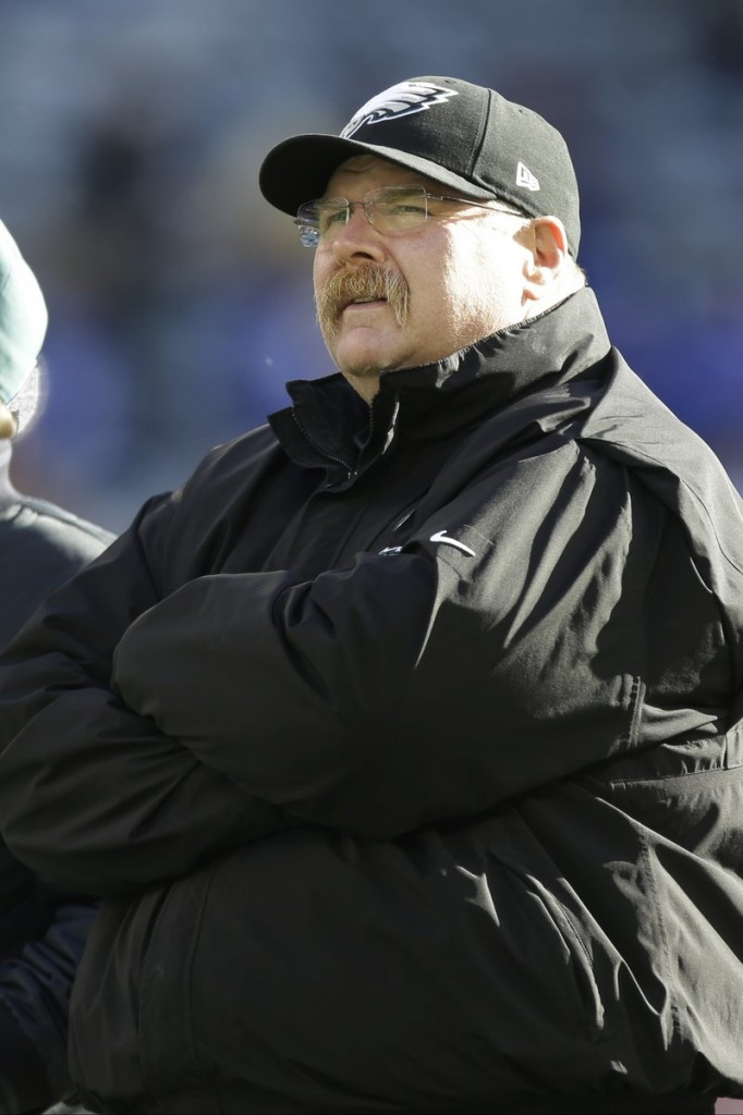 Andy Reid took the Eagles to the playoffs nine times in 14 seasons, but never was able to win a Super Bowl.