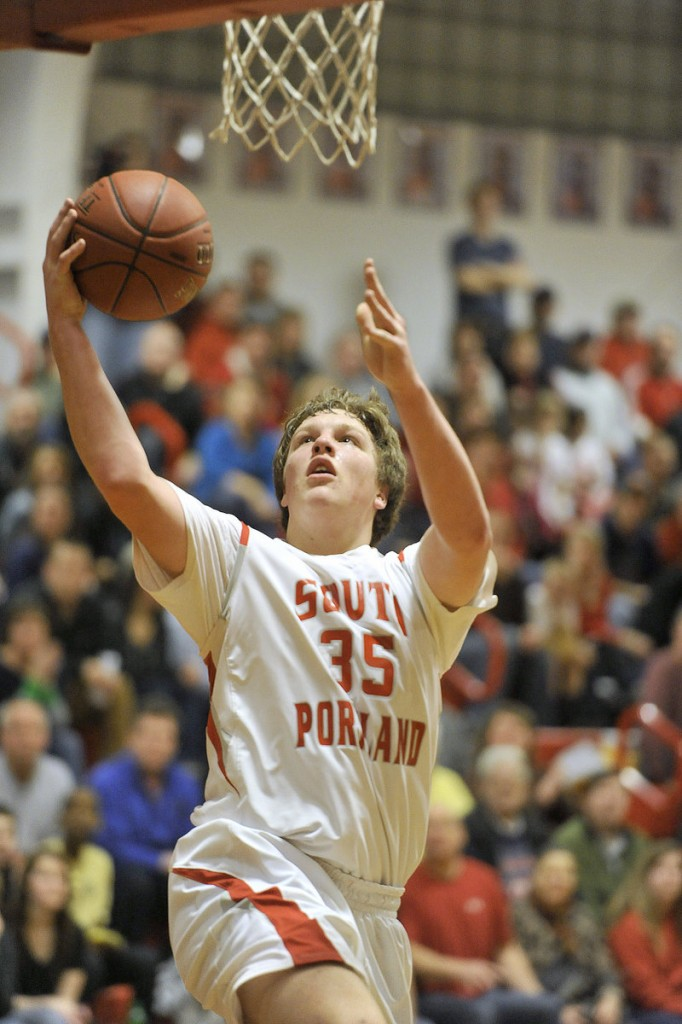 Jaren Muller, a 6-foot-5 sophomore, is averaging more than 10 points per game for South Portland, which is 7-1 after an overtime loss Friday against Deering.