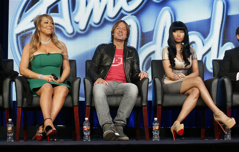 "Mariah Carey, Keith Urban and Nicki Minaj are three of the judges this year on ""American Idol,"" which begins its 12th season Wednesday."