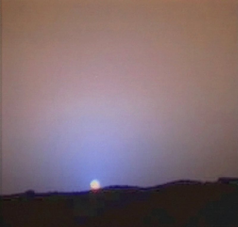 A NASA televised Mars sunset. Earth pioneers could get to see one in person by 2023 if all goes as planned.