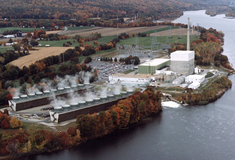 The Vermont Yankee nuclear power plant in Vernon, Vt., which was opened in 1972, supplies one-third of the electricity used in the state.