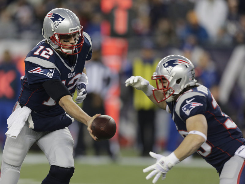 Danny Woodhead played in just the opening series in Sunday's playoff game against Houston before leaving with an injured thumb. Coach Bill Belichick did not reveal how much Woodhead would be used against the Ravens.