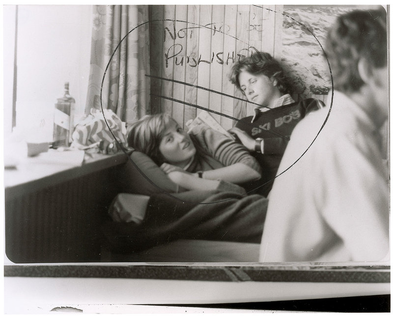 The photo of Diana Spencer, at age 18, before she became Princess of Wales.