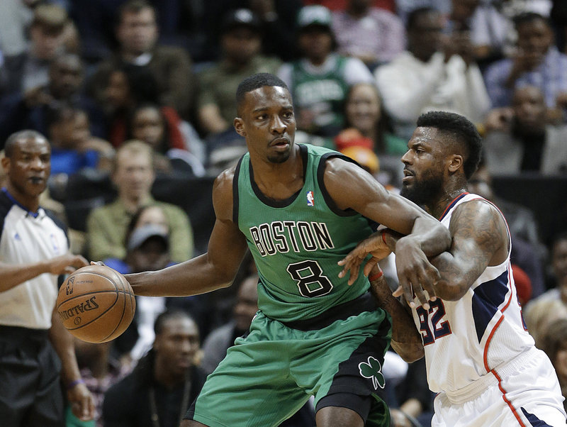 Jeff Green was pulled from Boston's line-up Friday night and may be on his way to Memphis.